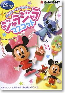 Disney Character Jyarajyara Mascot 8 pieces (Shokugan)