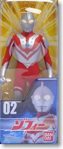 ウルトラヒーローシリーズ02 ゾフィー (リニューアルPKG) (完成品)
