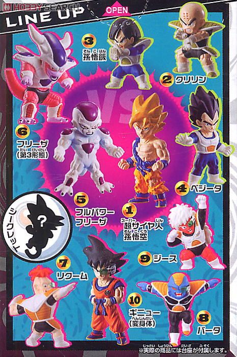 Dragon Ball Kai Deformation Chapter of Legend of Super Saiyan 10pieces