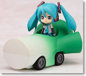 Nendoroid Plus: Vocaloid Pull-back Cars Miku & Leek Car (PVC Figure)