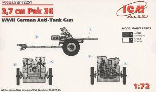 独・3.7cm Pak 36 対戦車砲 (プラモデル) - ホビーサーチ ミリタリープラモ