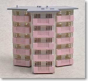 [TW-SUB-01] スターハウス (白、ピンク)