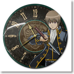 Gintama Okita Tin Clock (Anime Toy)