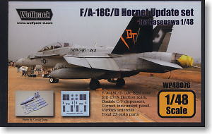 F/A-18C/D Hornet Latter Type Update (Detail Up Parts) (Plastic model)