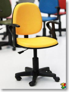 ZC WORLD Office Chair (Yellow) (Fashion Doll) ZCgirl