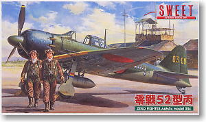 Zero Fighter A6M5c Model 52c (Plastic model)