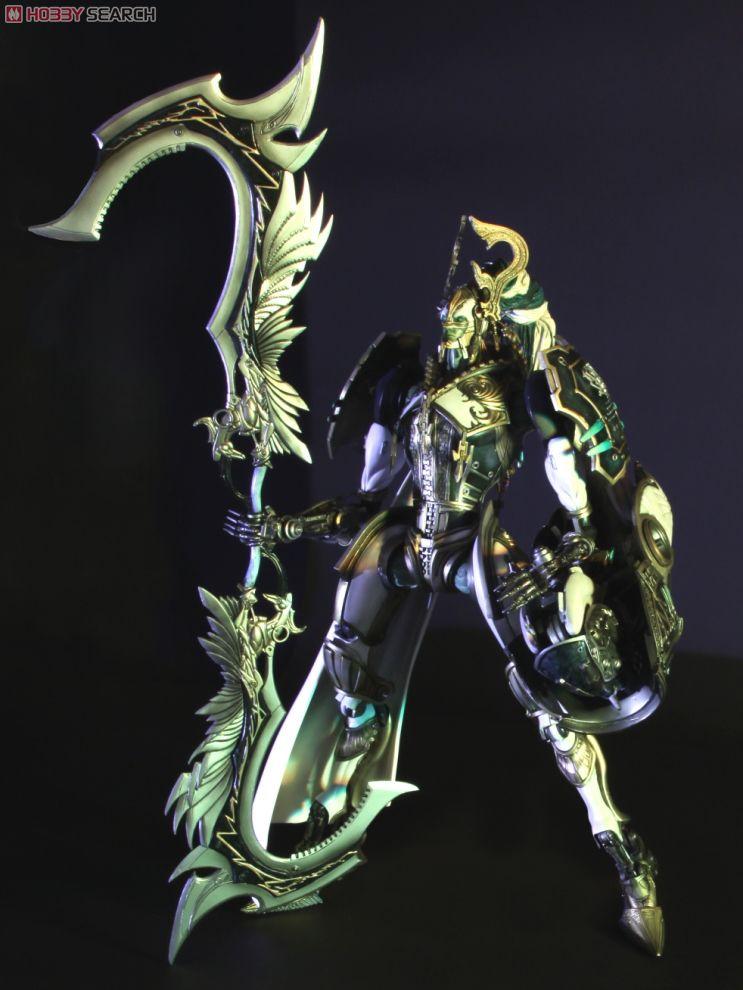 [close] Final Fantasy XIII Play Arts Kai Odin (PVC Figure) Item picture2