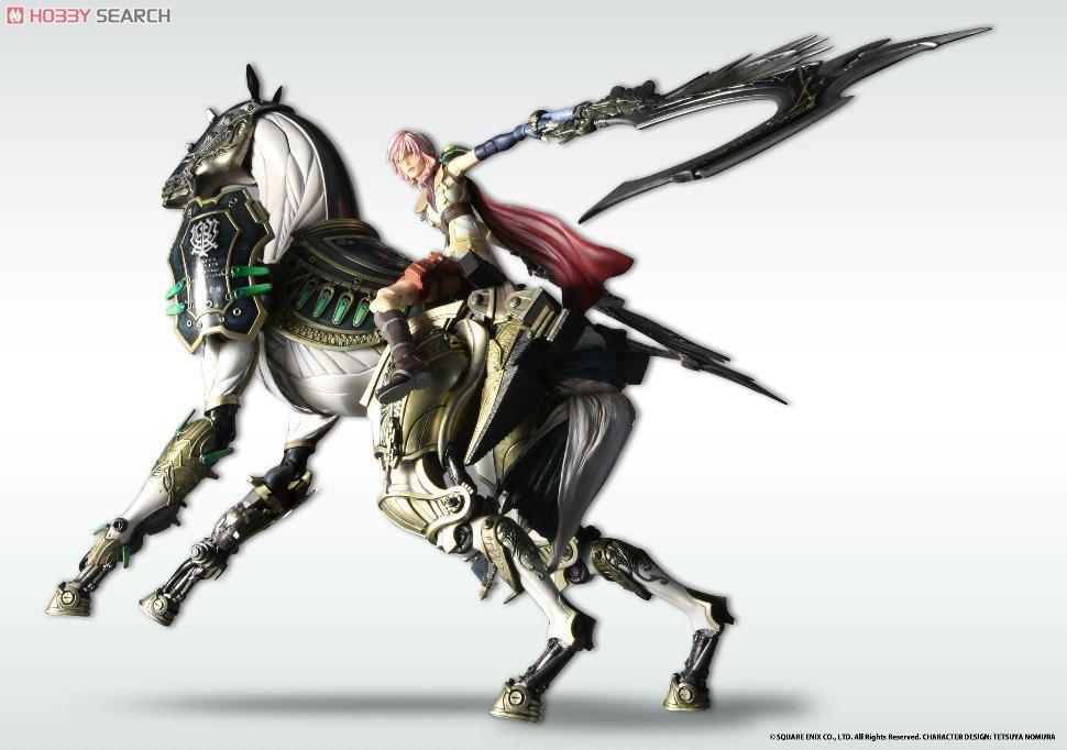 [close] Final Fantasy XIII Play Arts Kai Odin (PVC Figure) Other picture2