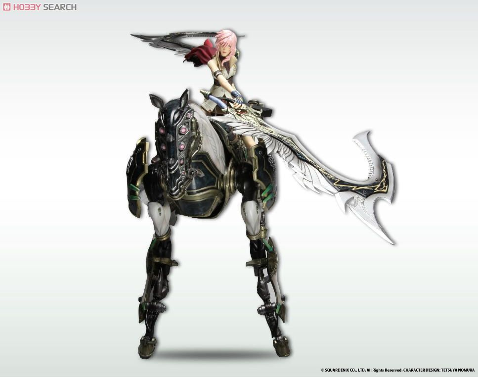 [close] Final Fantasy XIII Play Arts Kai Odin (PVC Figure) Other picture3