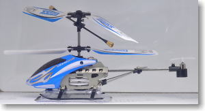 Infrared Control Heli Micro Helicopter (mini X) (Blue) (RC Model)