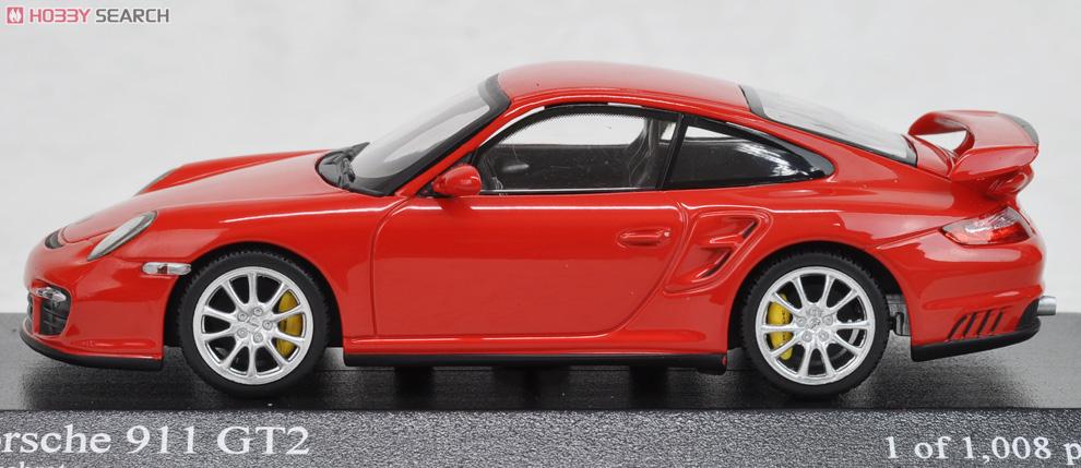 ポルシェ 911 GT2 2007 (レッド) (ミニカー)