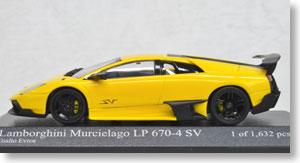 ランボルギーニ ムルシエラゴ LP 670-4 SV 2009 (イエロー) (ミニカー)