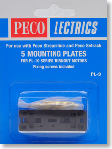 5 Mouting Plate (for PL-10 Series Turnout Motors) (Model Train)