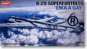 B-29A Superfortress Enola Gay (Plastic model)