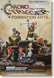 Chrono Trigger Formation Arts 6 Pieces (PVC Figure)