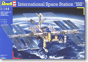 International Space Station (ISS) (Plastic model ...