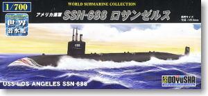 U.S. Navy SSN-688 Los Angeles (Plastic model)