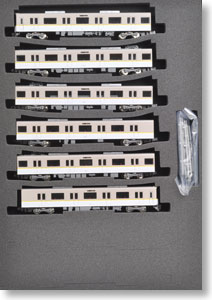 Kintetsu Series 5820 Osaka Line L/C Car (Dual Seat Train) `Series21` Six Car Formation Set (w/Motor) (6-Car Set) (Pre-colored Completed) (Model Train)