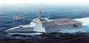 現用アメリカ海軍 沿海域戦闘艦 インディペンデンス LCS-2 (プラモデル)