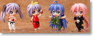 Nendoroid Petit Lucky Star x Street Fighter Set (PVC Figure)
