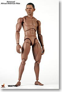 Hot Toys TrueType - 1/6 Scale Action Figure Body: Advanced - African American Male