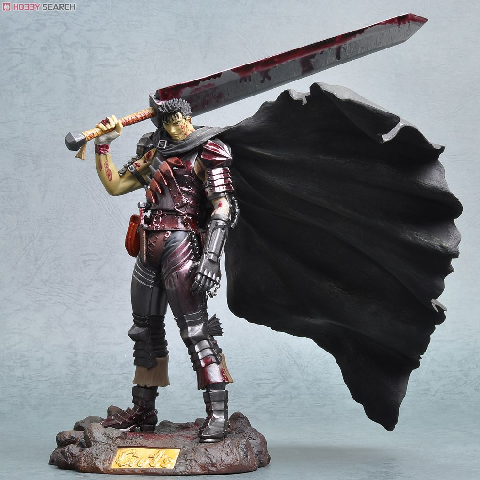 Berserk Guts The Black Fencer Limited Ver. Bloody Color