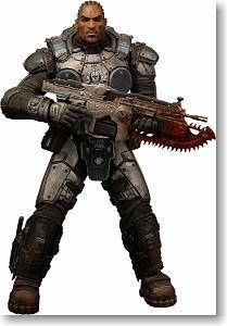 【SDCC2010 エクスクルーシブ】ギアーズ・オブ・ウォー3: ジェイス・ストラトン 7インチ アクションフィギュア
