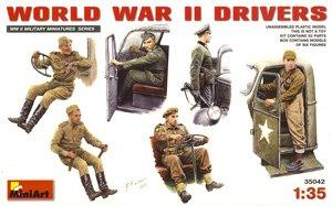 WW II ドライバーフィギュアセット (プラモデル)