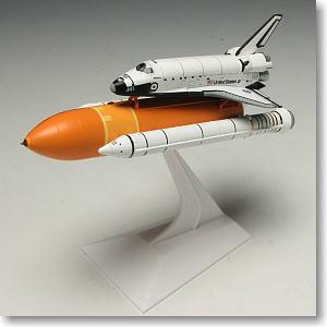 スペースシャトル「アトランティス」 ブースター付き (STS-132 アトランティス ラストミッション) (完成品)