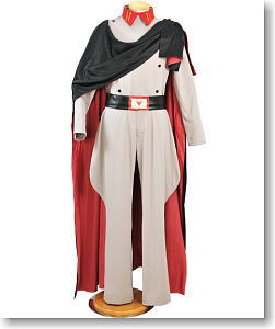 Trantrip Space Battleship Yamato Desler Costume Set Mens M (Anime Toy)