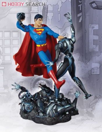 Superman vs darkseid statue