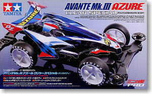 Avante Mk.III Azure Clear Special (Polycarbonate Body) (MS Chassis) (Mini 4WD)