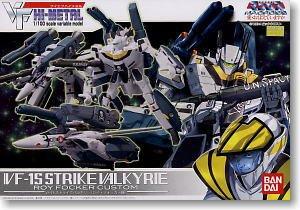 Bandai VF VF HI-METAL VF-1S Strike Valkyire Roy Focker Custom