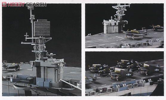 アメリカ海軍 護衛空母 CVE-73 ガンビアベイ (プラモデル) 画像一覧