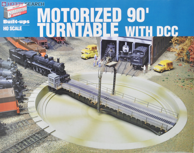 HO Scale Motorized 90` Turntable with DCC (Model Train) Hi