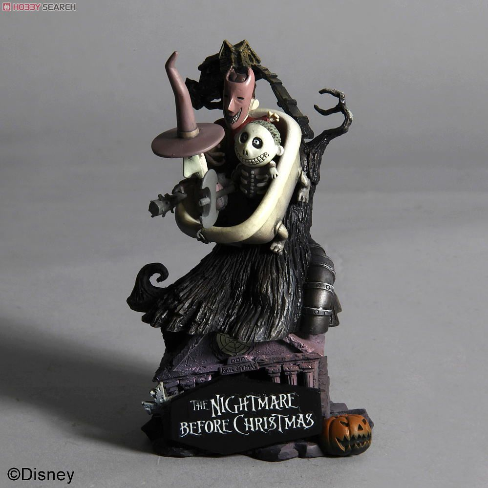 Disney Characters Formation Arts The Nightmare Before Christmas 6 ...