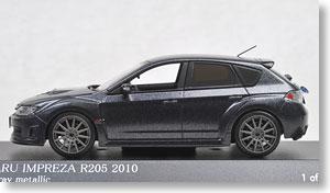 スバル インプレッサ R205 2010 (ダークグレイメタリック) (ミニカー)