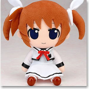 Nendoroid Plus Plushie Series 19: Takamachi Nanoha School Uniform Ver. (Anime Toy)