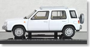 日産 ラシーン Type II (1997) ホワイト (ミニカー)