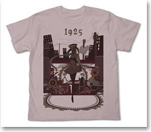 初音ミク 1925 1925シルエットTシャツ ... 初音ミク 1925 1925シルエットT