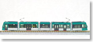Hiroshima Electric Railway Type 5000 `Green Mover` (Model Train)