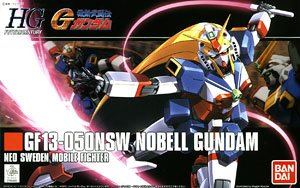 Nobel Gundam (HGFC) (Gundam Model Kits)