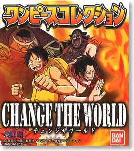 One Piece Collection -Change The World- 12 pieces (Shokugan)