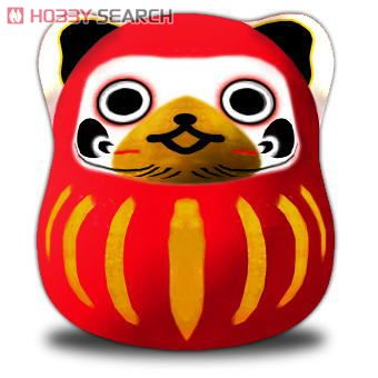 MHP 3rd Airou Daruma Piggy Bank (Anime Toy) Item picture1