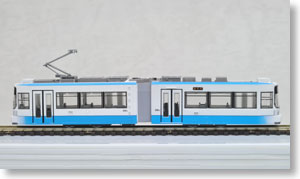 The Railway Collection Kumamoto City Transportation Bureau Type 9700 The First Edition (9701) (Model Train)