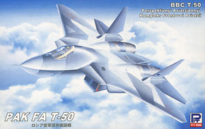 Russian Air Force Prototype Fighter PAK FA T-50 (Plastic model)