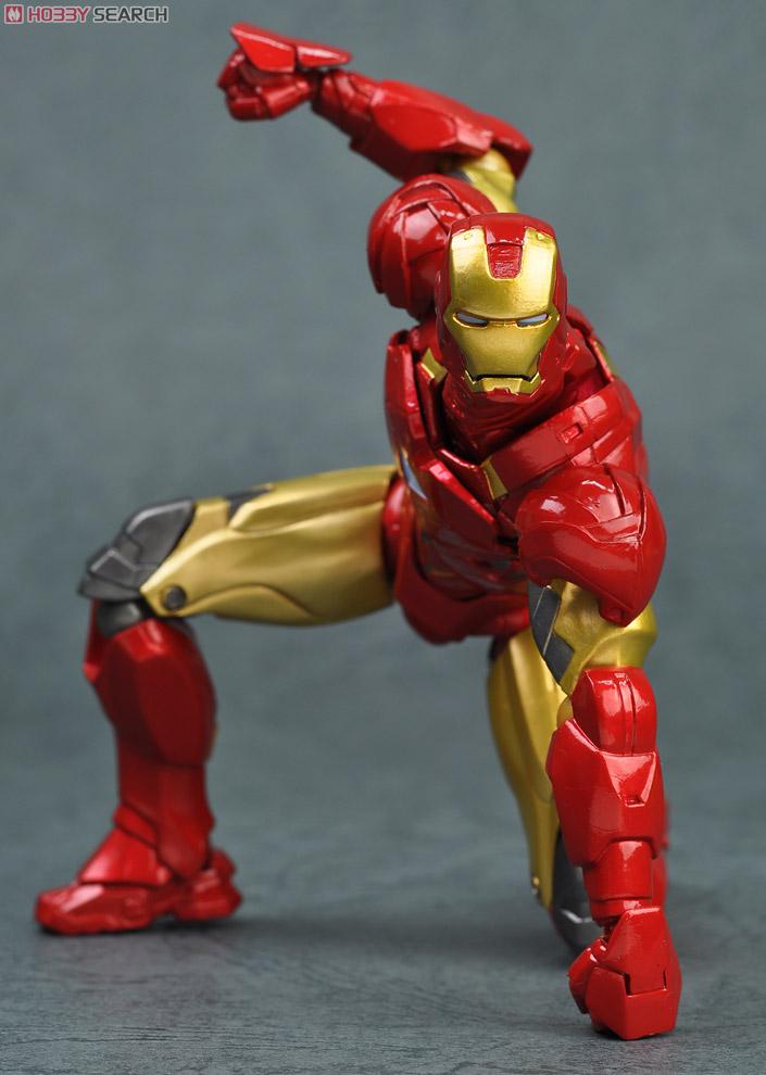 [close] SCI-FI Revoltech Series No.024 Iron Man Mark VI Item picture18