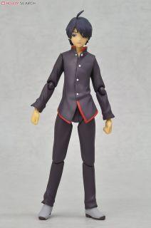"Ishin Nishio /""Bakemonogatari/"" figma  Koyomi Araragi  Figure Max Factory Japan"