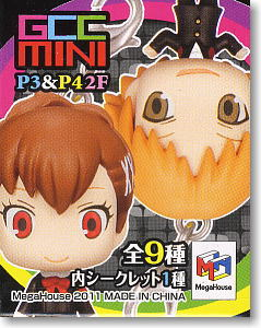 Game Characters Collection Mini Persona 3 & Persona 4 Vol.2 12 pieces (Anime Toy)