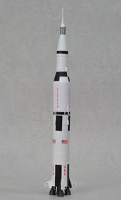 アポロ11号ミッション 40周年記念 サターンV型ロケット (完成品)